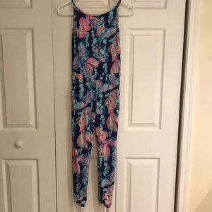 Girls Lilly romper size 8-10 L,  new without tags